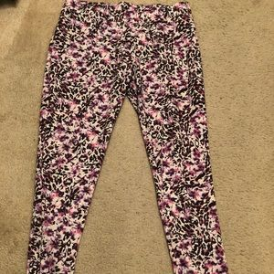 H&M Divided printed stretch pants